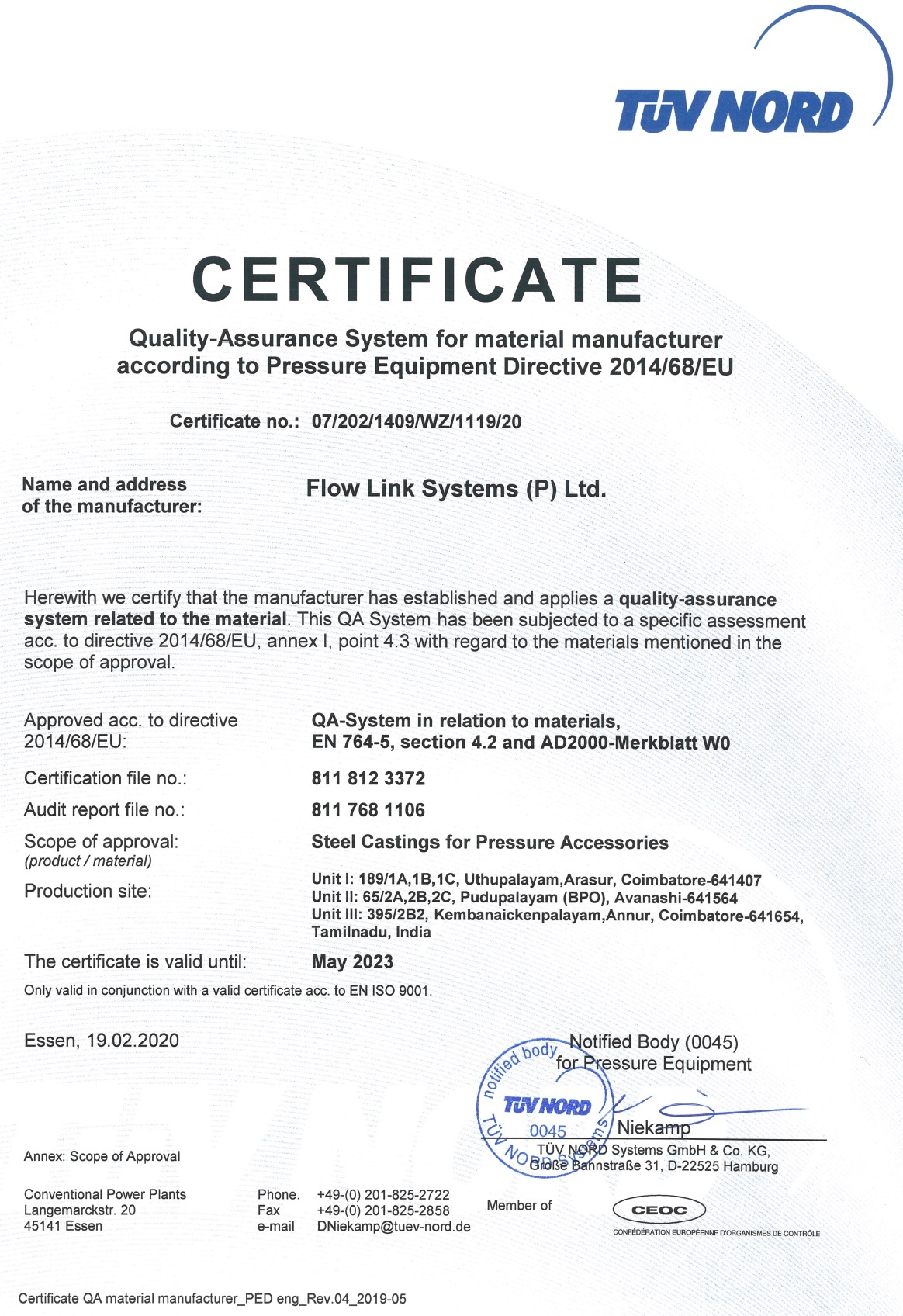 Flow Link Systems (P) Ltd.
